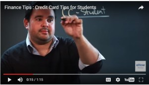 Credit card tips for students