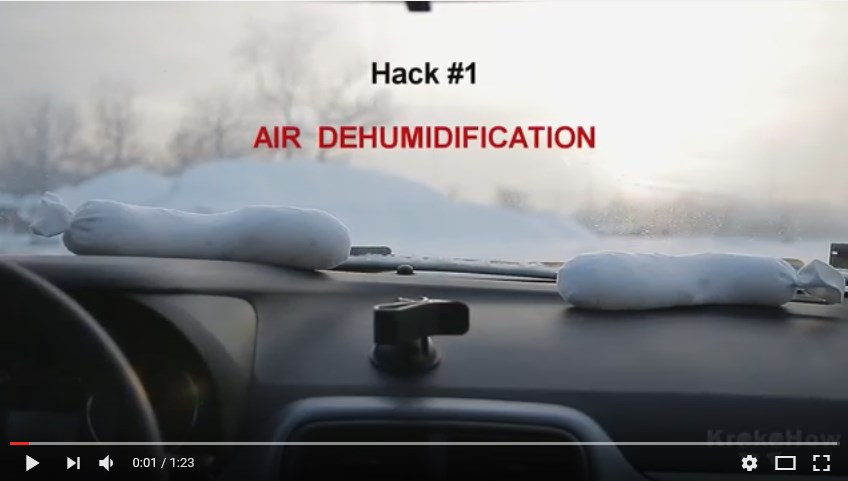 Winter car life hacks